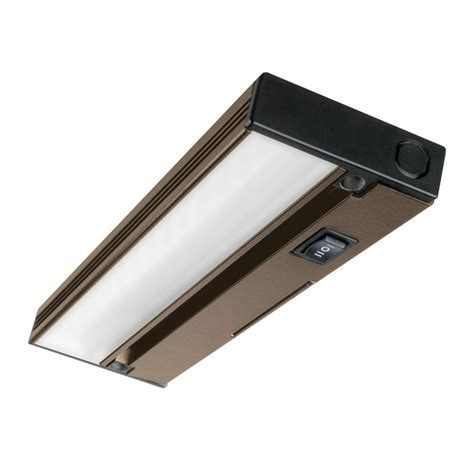 Commercial Electric 12 In Led Silver Under Cabinet Light 12 Cabinet Light