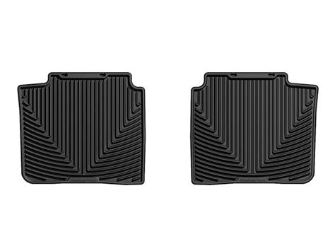 Ford Fusion All Weather Floor Mats by Weathertech All Weather Floor Mats Ford Fusion 2010 2012 Black Ebay