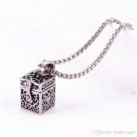 Wholesale Ashes Magic Box Pendant Urn Keepsake Vintage