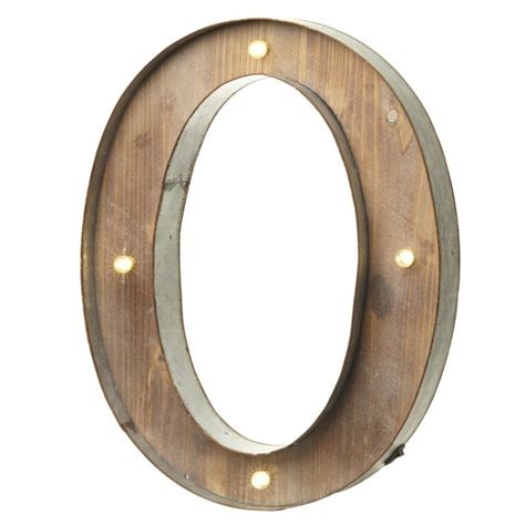 wooden letters with lights led light up wood carnival letter o