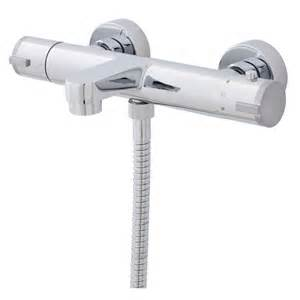 ultra thermostatic bath shower mixer wall mounted
