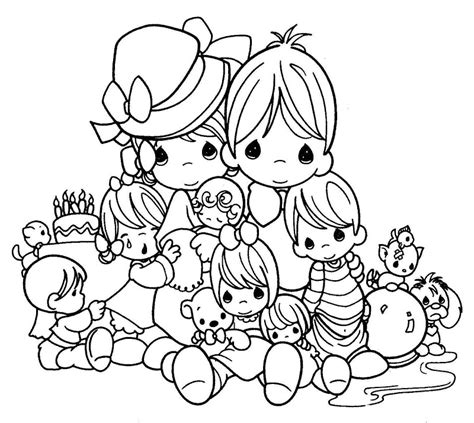 Precious Moments Animal Coloring Pages Free Printable Precious Moments Coloring Pages For Kids by Precious Moments Animal Coloring Pages