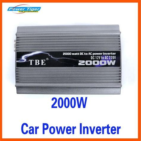 Harga Power Inverter Auto Charger 2000w peak power 2000w car converter power inverter dc 12v