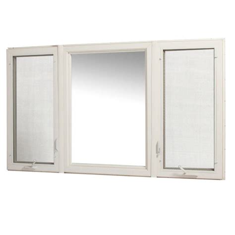 vinyl awning windows tafco windows 83 in x 48 in vinyl casement window with