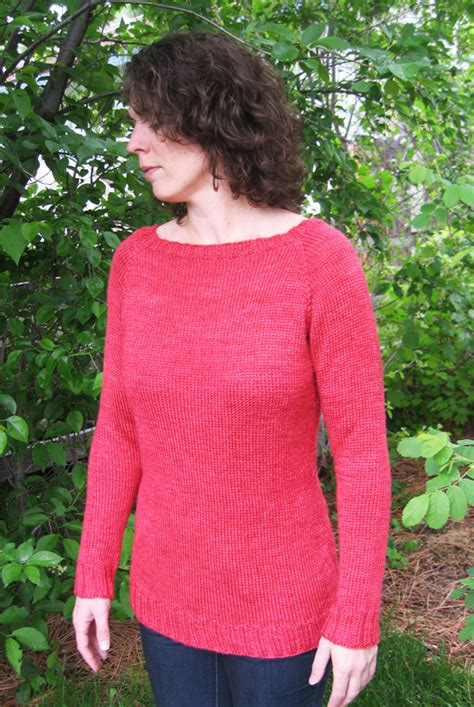 knit pattern boatneck sweater 2911 neck down boatneck pullover knitting pure and simple