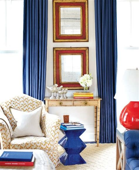 Red And Blue Home Decor | decorating with red white and blue organize and