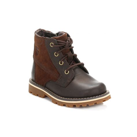 toddler brown boots timberland toddler brown chestnut ridge boots ca14gi
