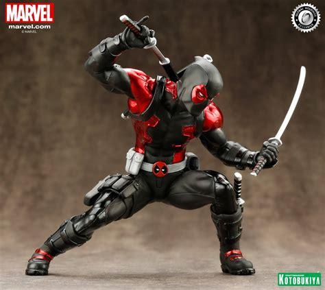 Marvel Legend Deadpool Blue Suit Series 1 deadpool black suit artfx statue