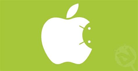 apple on android android vs apple the battle is here to stay