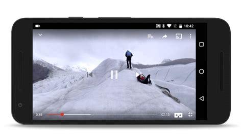 Google cardboard youtube