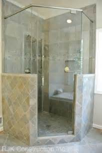 corner walk in shower home ideas