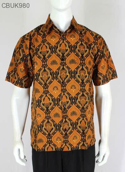 Kemeja Batik Pendek Murah kemeja batik pendek motif klasik kemeja lengan pendek