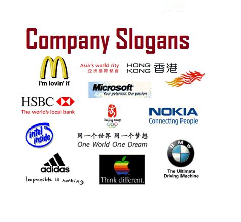 how to make a company logo and tagline 5 important tips to construct an effective slogan for your company
