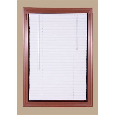 Which Blind Vinyl Alluminum Cordless - odl white cordless add on enclosed aluminum blinds with 1