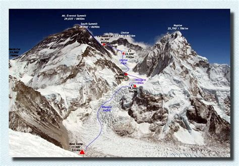 mt everest map mount damavand guides