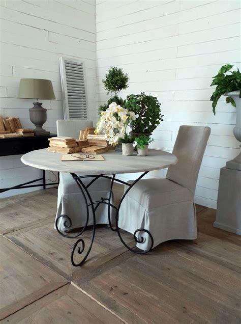 tavolo vintage tavolo rotondo vintage legno e ferro nuovimondi