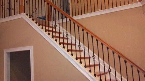 Spindle Staircase Ideas Stair Spindles Wood How To Install Wrought Iron Stair Spindles Related Products 12 Photos