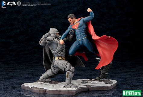kotobukiya batman v superman artfx statues the toyark news