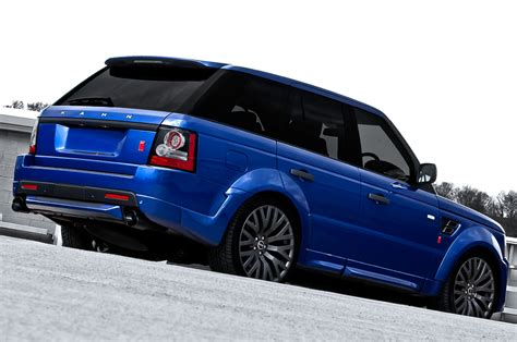 blue land rover bali blue range rover sport rs300 by kahn autoevolution