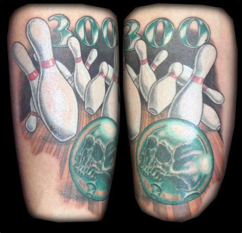 bowling tattoos 30 bowling tattoos for striking design ideas