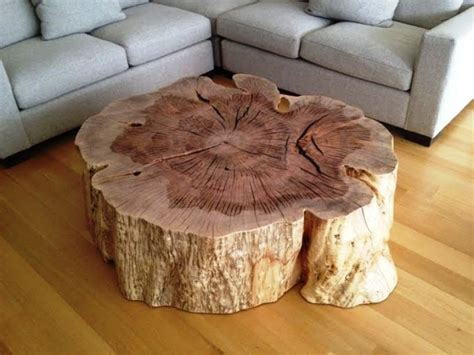 how to a tree stump end table tree stump end tables tree stump coffee table on