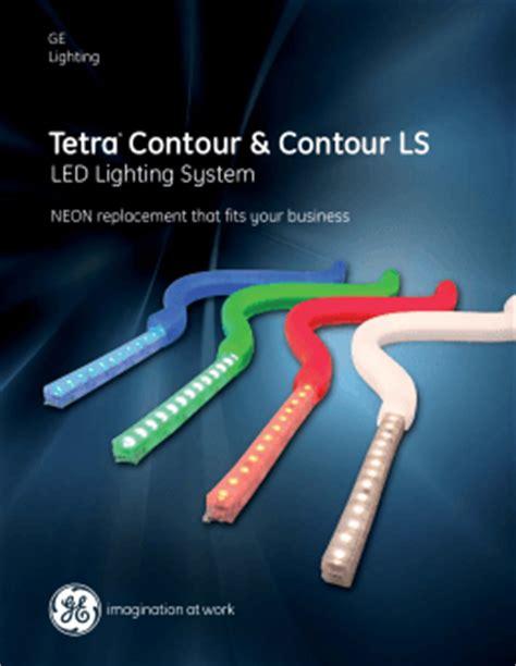 Ge Led Ls by Ge Led Signage Lighting Tetra Powerstrip Data Sheet