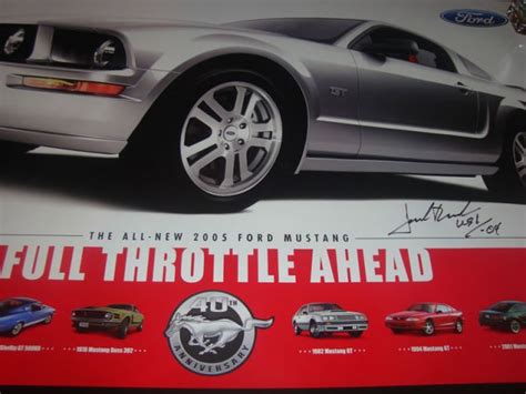 Roush Mustang Giveaway - mustang blog giveaway day 7 jack roush autographed poster page 2
