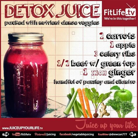 Carrot Juice For Liver Detox by 17 Best Ideas About Detox Juices On Detox