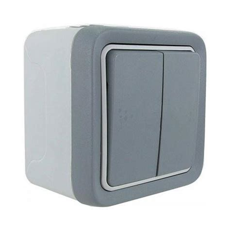 Junction Box Plexo Weatherproof 155x155x74 Legrand legrand 2 lever plexo surface mounted switch grey livecopper