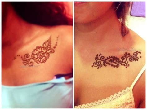 henna tattoo designs collar bone collarbone ideas and collarbone