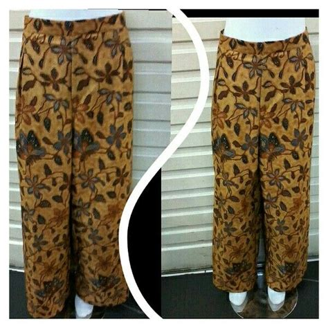 Rok Batik Cap Pola 1 11 best celana kulot etnik batik images on