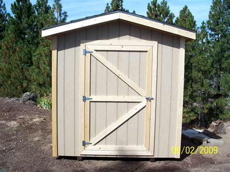 8x10 Sheds by 8 Gable Style Shed With Overhang Wood Garden Shed