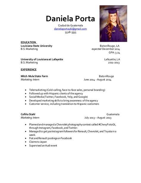 Modelo Cv Argentina 2015 curriculum 2015