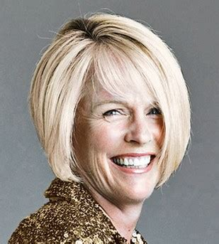 bob haircuts for older women side bangs older women hair cut with graduated bob style with long