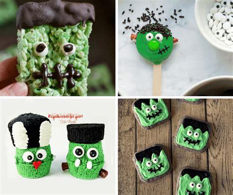 20 Frankenstein Food Ideas For