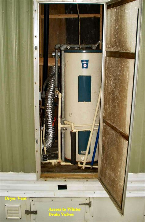 Water Heater In Closet by The Plumbing Closet
