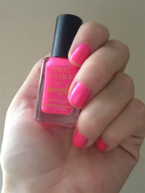 Neon Nails From Barry M by A New Favourite Barrym Neon Pink Nail Paint Pink Julep