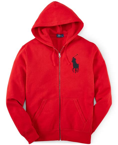 New Jaket Resletting Sweater Polos Hoodie Zipper Biru Navy polo ralph s zip fleece hoodie in for bright save 53 lyst