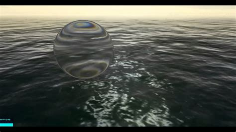 playing  ocean water shader refractive glass