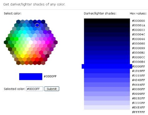 html color picker atraktif desawarna