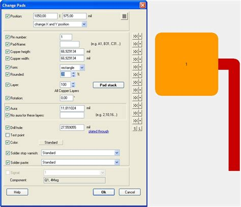 pad pattern design software pad target 3001 pcb design freeware is a layout cad
