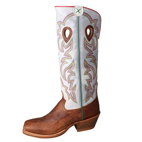 mens buckaroo cowboy boots twisted x mens white leather 17in shoulder buckaroo cowboy