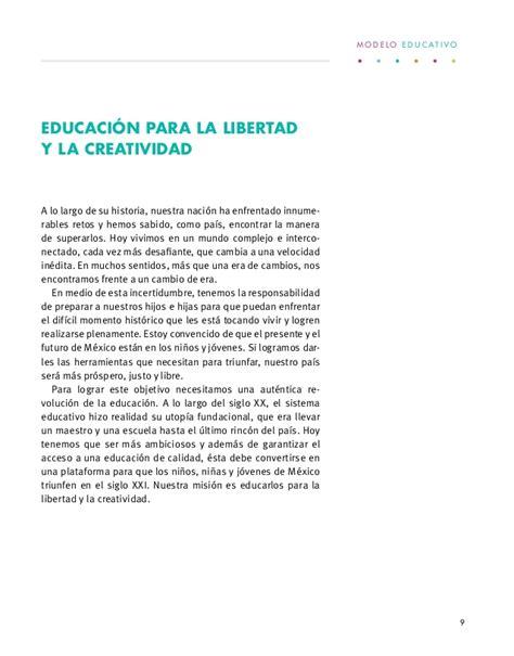 Modelo Curricular Mexicano Modelo Educativo 2017