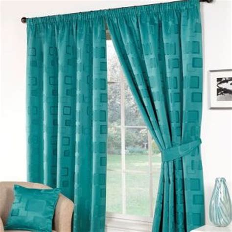 Buy Teal Curtains Buy Curtains 46 X 54 Teal At Cherry