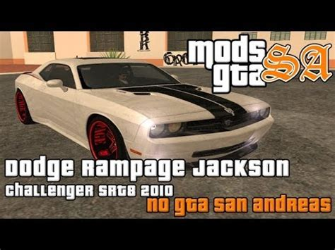 2010 dodge quinton rage jackson challenger srt8 gta sa dodge quinton rage jackson challenger srt8