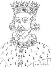 King Henry Ii Coloring Pages Hellokids Com The King 2 Coloring Pages
