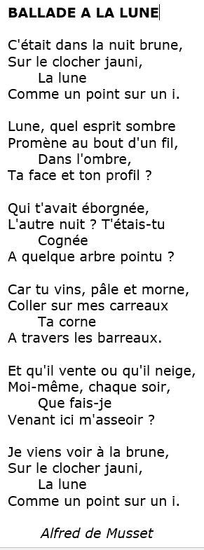 poeme ballade