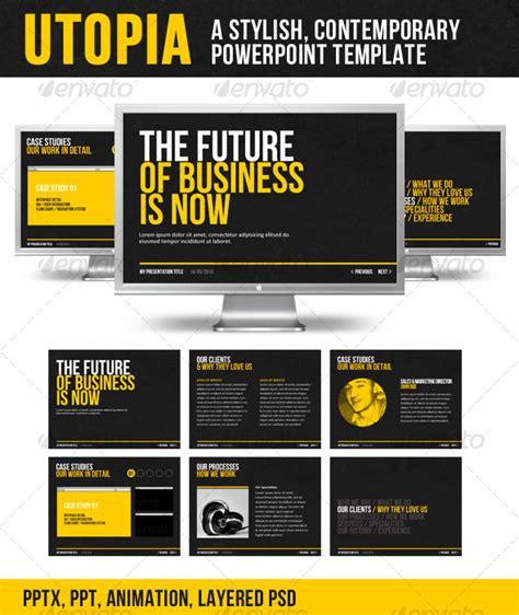 photoshop templates for presentation utopia powerpoint template www moderngentz com your