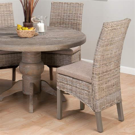 rattan kitchen furniture jofran booth bay kubu rattan chairs set of 2 at hayneedle