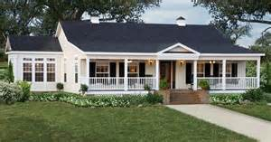 Ranch Style House single story home with wrap around porch google search